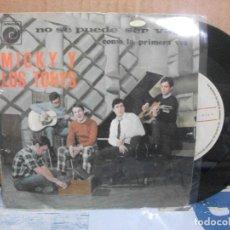 Discos de vinilo: MICKY Y LOS TONYS NO SE PUEDE SER VAGO SINGLE SPAIN 1967 PDELUXE. Lote 157127574
