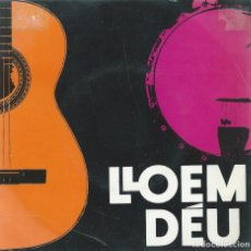 Discos de vinilo: JAUME ARNELLA, LLOEM DEU. ALS 4 VENTS 1968.. Lote 157129346