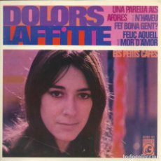 Discos de vinilo: DOLORS LAFFITTE, UNA PARELLA ALS AFORES, CONCENTRIC 1969.. Lote 157133894