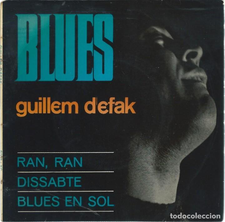 GUILLEM D'EFAK, BLUES. CONCENTRIC 1965 (Música - Discos de Vinilo - EPs - Cantautores Españoles)