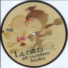 Discos de vinilo: -DESCONOCIDO-, SALVE REGINA/VIROLAI. SAYTON 1971 PICTUREDISC -ERROR DE IMPRESION,NO COINCIDE-. Lote 157134862