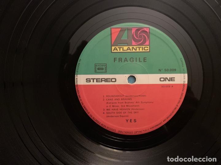 Discos de vinilo: Yes ?– Fragile Sello: Atlantic ?– 50.009 Formato: Vinyl, LP, Album, Repress, Gatefold País: France - Foto 3 - 157136446