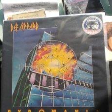Discos de vinilo: DEF LEPPARD – PYROMANIA (EDICIÓN UK). Lote 156944430