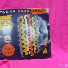 Discos de vinilo: MUSICA PARA BAILAR - EDDIE CALVERT, TROMPETA, NORRIE PARAMOR ORQUESTA, LA VOZ DE SU AMO. Lote 157142258