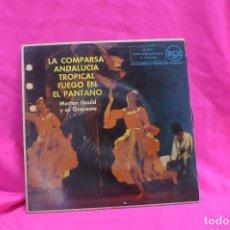 Discos de vinilo: MORTON GOULD Y SU ORQUESTA - LA COMPARSA, ANDALUCIA, TROPICAL, FUEGO EN EL PANTANO, RCA, 1958.. Lote 157142610