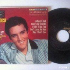 Discos de vinilo: ELVIS PRESLEY - JAILHOUSE ROCK - EP USA 5 CANCIONES 1957 - RCA. Lote 157144386