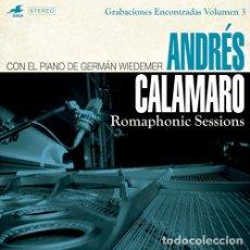 Discos de vinilo: ANDRÉS CALAMARO, GERMAN WIEDEMER - ROMAPHONIC SESSIONS (GRABACIONES ENCONTRADAS VOLUMEN 3). Lote 157146390
