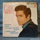 Discos de vinilo: ELVIS PRESLEY - ARRANCALO + 3 - MUY DIFICIL EP COMPACT 33 DOUBLE SPAIN RCA AÑO 1961 PORTADA ÚNICA. Lote 157153062