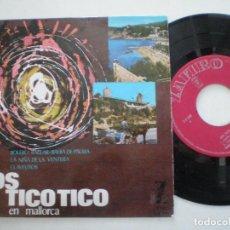 Discos de vinilo: LOS TICO TICO - EN MALLORCA - EP ZAFIRO 1964. Lote 157219878