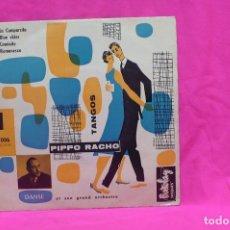 Discos de vinilo: PIPPO RACHO - LA CUMPARSITA, BLUE SKIES, CAMINITO, ROMANESCA, BARCLAY, 13006. FRANCIA.. Lote 157223382