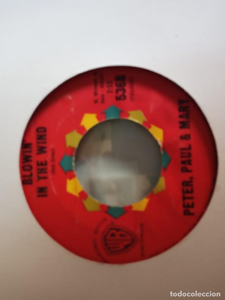 Discos de vinilo: PETER, PAUL & MARY FLORA / BLOWIN IN THE WIND FOLK ROCK ORIGINAL USA 1963 VG+ - Foto 2 - 157228454
