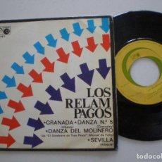 Discos de vinilo: LOS RELAMPAGOS - GRANADA + 3 - EP ZAFIRO NOVOLA 1968. Lote 157228586