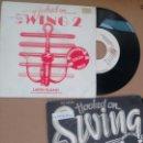 Discos de vinilo: LOTE DE 2 SINGLES ( VINILO) HOOKED ON SWING AÑOS 80. Lote 157230882