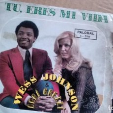 Discos de vinilo: SINGLE (VINILO) DE WESS JOHNSON & DORI GEZZI AÑOS 70. Lote 157232070