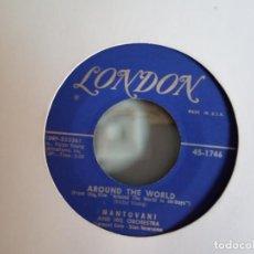 Discos de vinilo: MANTOVANI & HIS ORCHESTRA AROUND THE WORLD/ROAD TO BALLINGARRY JAZZ EASY LISTENING ORIGINAL USA VG++. Lote 157232258