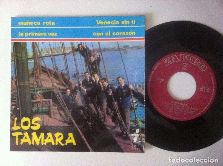 LOS TAMARA - VENECIA SIN TI - EP 1965 - ZAFIRO (Música - Discos de Vinilo - EPs - Grupos Españoles 50 y 60)