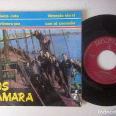 Discos de vinilo: LOS TAMARA - VENECIA SIN TI - EP 1965 - ZAFIRO. Lote 157242594