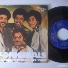 Discos de vinilo: THE ORIGINALS - SUPERNATURAL VOODOO WOMAN - SINGLE 1974 - MOTOWN. Lote 157244158
