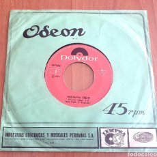 Discos de vinilo: JEAN PAUL EL TROGLODITA- MUCHACHA TRISTE/MI SOLDEDAD (PERÚ - POLYDOR - 1974) MUY RARO!! SAICOS. Lote 157248410