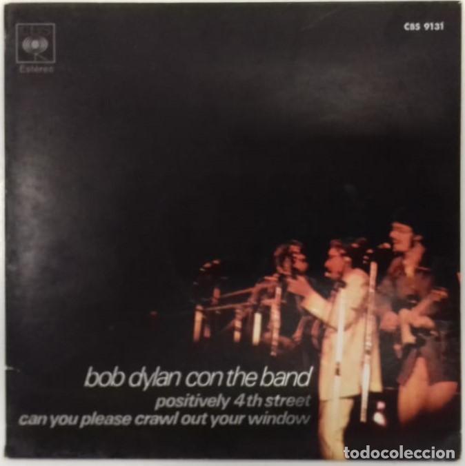 BOB DYLAN - POSITIVELY 4TH STREET - SG - ED ESPAÑOLA 1971 (Música - Discos - Singles Vinilo - Pop - Rock - Extranjero de los 70)