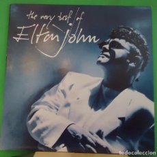 Discos de vinilo: LP ELTON JOHN – THE VERY BEST OF ELTON JOHN 2LP. Lote 157257286
