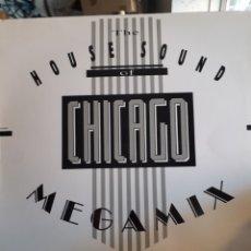 Discos de vinilo: VARIOUS-THE HOUSE SOUND OF CHICAGO MEGAMIX. Lote 157258342
