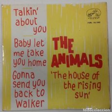 Discos de vinilo: THE ANIMALS - THE HOUSE OF THE RISING SUN EP -. Lote 157258602