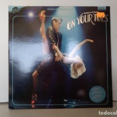 Discos de vinilo: ON YOUR TOES . Lote 157259286