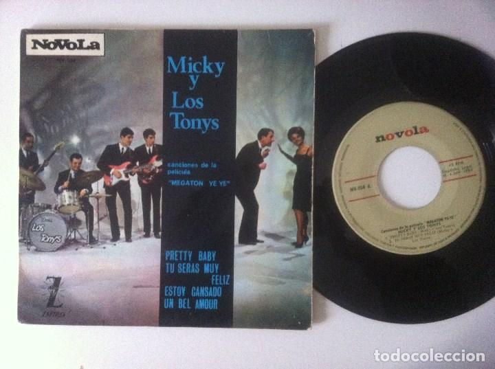 MICKY Y LOS TONYS - PRETTY BABY - EP 1965 - NOVOLA - MEGATON YEYE B.S.O (Música - Discos de Vinilo - EPs - Grupos Españoles 50 y 60)