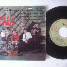 Discos de vinilo: MICKY Y LOS TONYS - NO SE PUEDE SER VAGO - EP 1967 - NOVOLA. Lote 157267426