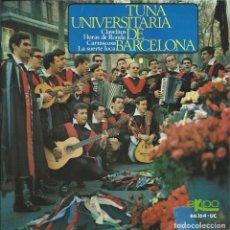 Discos de vinilo: TUNA UNIVERSITARIA DE BARCELONA, CLAVELITOS. EKIPO 1967. Lote 157299774