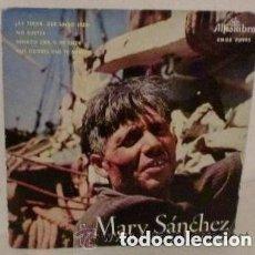 Discos de vinilo: MARY SANCHEZ - AY TEROR QUE LINDO ERES - EP ALHAMBRA 1959. Lote 157314198