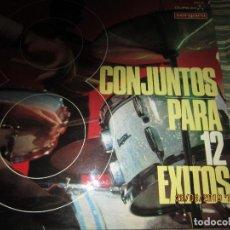 Discos de vinilo: 8 CONJUNTO PARA 12 EXITOS LP - ORIGINAL ESPAÑOL - DURIUM / VERGARA RECORDS 1967 - MONOAURAL . Lote 157323238