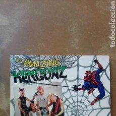 Discos de vinilo: KLINGONZ - BLURB - LP VINILO 1990 - BUEN ESTADO - PSYCHOBILLY -. Lote 157329081