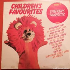 Discos de vinilo: CHILDREN`S FAVOURITES - 1966 FANFARE. Lote 157349766