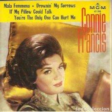 Discos de vinilo: CONNIE FRANCIS. EP. SELLO MGM. EDITADO EN ESPAÑA. AÑO 1963. Lote 157353158