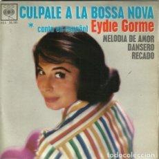 Discos de vinilo: EYDIE GORME. EP. SELLO CBS. EDITADO EN ESPAÑA. AÑO 1963. Lote 157353630