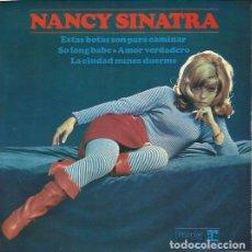 Discos de vinilo: NANCY SINATRA. EP. SELLO HISPAVOX/ REPRISE. EDITADO EN ESPAÑA. AÑO 1965. Lote 157353866