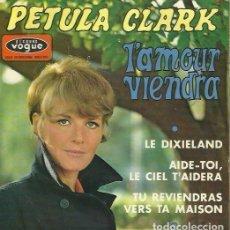 Discos de vinilo: PETULA CLARK. EP. SELLO DISQUES VOGUE. EDITADO EN FRANCIA. Lote 157355182