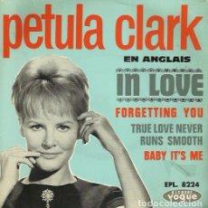 Discos de vinilo: PETULA CLARK. EP. SELLO DISQUES VOGUE. EDITADO EN FRANCIA. Lote 157355418