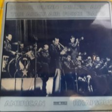 Discos de vinilo: MAJOR GLENN MILLER AND THE ARMY AIRFORCE BAND- LP AMERICAN RHAPSODY- IMPORT ENGLAND SWING WORLD 1979. Lote 157363188