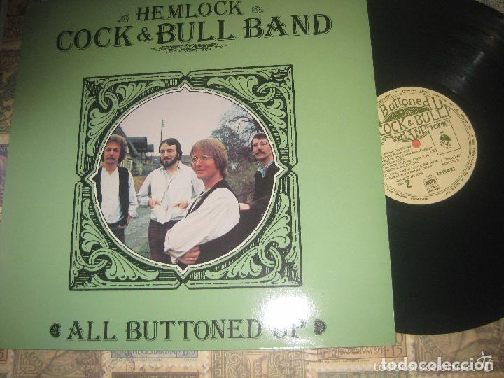 THE HEMLOCK COCK & BULL BAND ALL BUTTONED UP (TOPIC-1981) RARO ORIGINAL INGLES EXCELENTE ESTADO (Música - Discos - LP Vinilo - Country y Folk)