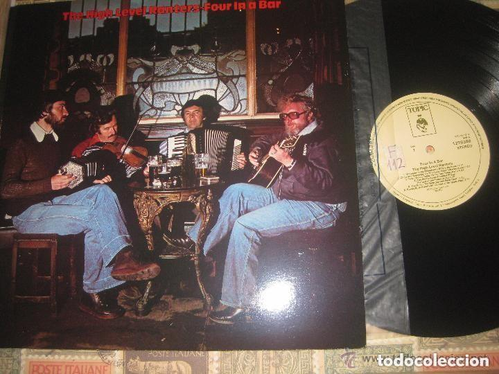 THE HIGH LEVEL RANTERS FOUR IN A BAR (TOPIC-1979)OG ENGLAD EXCELENTE ESTADO (Música - Discos - LP Vinilo - Country y Folk)