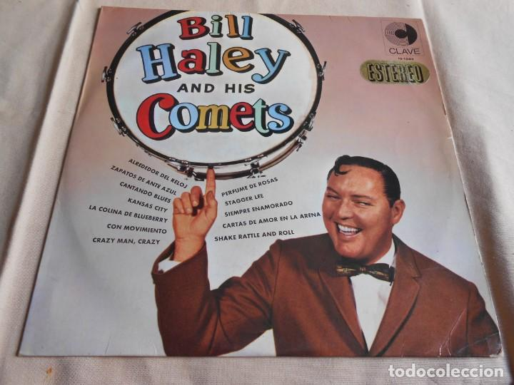 BILL HALEY AND HIS COMETS, LP, ALREDEDOR DEL RELOJ +11, AÑO 1967 (Música - Discos - LP Vinilo - Pop - Rock Internacional de los 50 y 60)