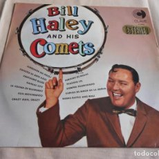 Discos de vinilo: BILL HALEY AND HIS COMETS, LP, ALREDEDOR DEL RELOJ +11, AÑO 1967. Lote 157370002