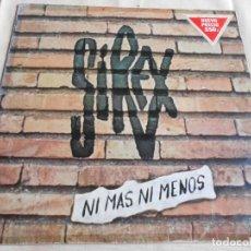 Discos de vinilo: SIREX, LOS, - NI MÁS NI MENOS -, LP, ESTO SI ME ALTERA EL CUERPO + 9, AÑO 1980. Lote 157370854