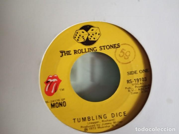 ROLLING STONES TUMBLING DICE / SWEET BLACK ANGEL ORIGINAL USA 1972 VG++ (Música - Discos - Singles Vinilo - Pop - Rock - Extranjero de los 70)
