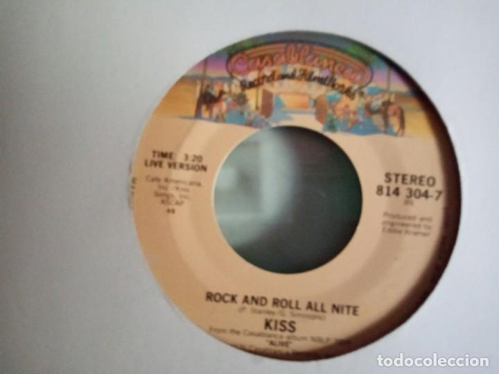 KISS ROCK AND ROLL ALL NIGHT/ I WAS MADE FOR LOVIN' YOU ORIGINAL USA 1979 RARO VG++ (Música - Discos de Vinilo - Maxi Singles - Heavy - Metal)