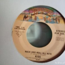 Discos de vinilo: KISS ROCK AND ROLL ALL NIGHT/ I WAS MADE FOR LOVIN' YOU ORIGINAL USA 1979 RARO VG++. Lote 157377922