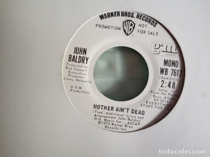 JOHN BALDRY MOTHER AIN'T DEAD PROMO ORIGINAL USA 1972 VG++ (Música - Discos - Singles Vinilo - Pop - Rock - Extranjero de los 70)